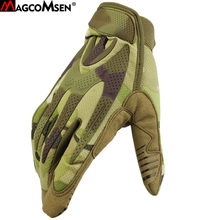 MAGCOMSEN Camouflage Tactical Gloves Men 2018 Winter Full Fingers Airsoft SWAT Combat Gloves Fighting Train Mittens AG-YWHX-024(China)