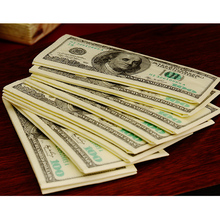 100 Dollars Napkin Tissue Dollar Bill Paper Towel Novelty Gift Personality Popularity Wipe Hot Selling New(China)