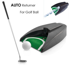 Golf Returner Ball Return for Auto Return System Putt Golfing Training Golf Ball Kick Back Automatic Return Putting Cup Device