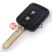 Brand New Uncut Blade With Groove Remote key Fob 2 Button 433MHz ID46 Chip for Nissan 5WK4 876/818