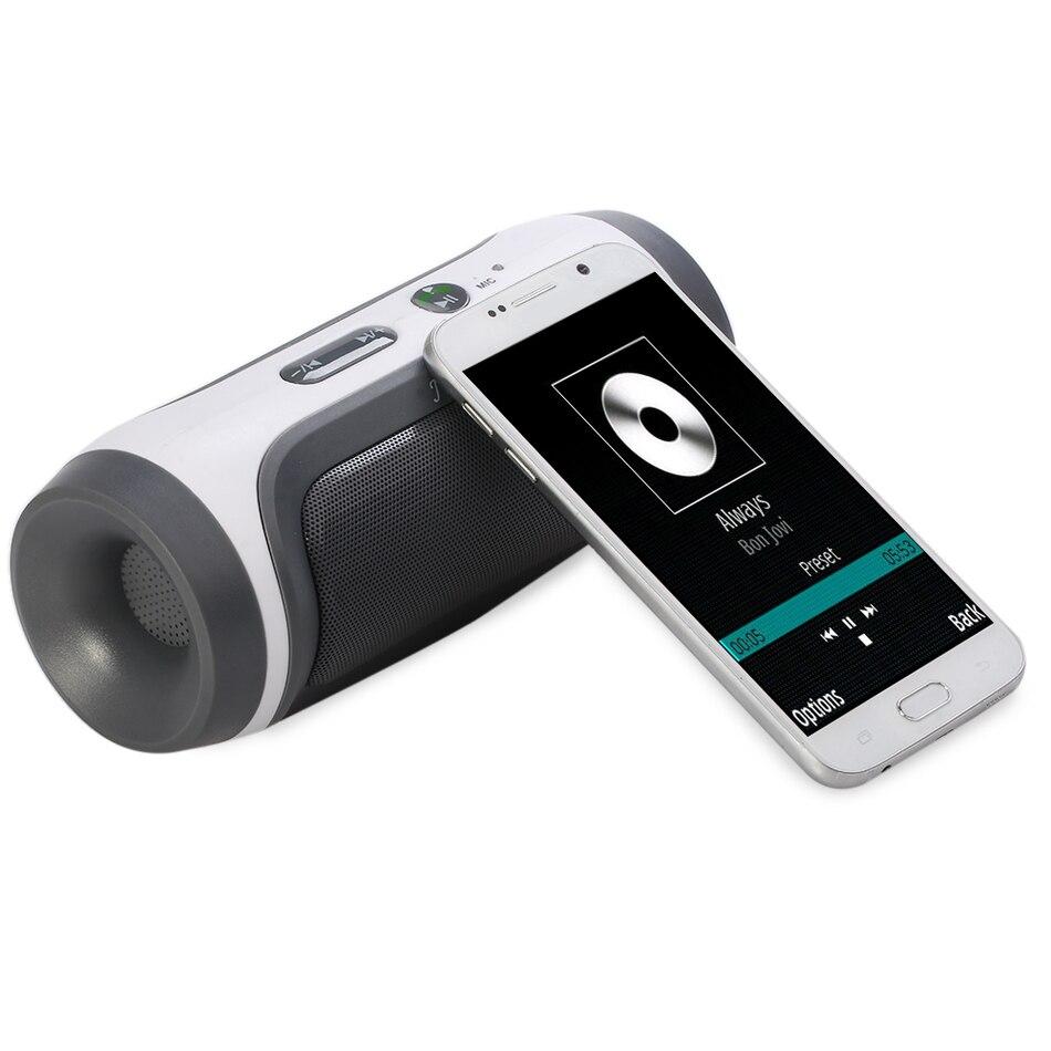 JY-3 JY - 3 Outdoor Portable Wireless Speaker Bluetooth 3.0 Music Box Speaker FM Radio Handsfree TF Card USB Speaker For Phone<br><br>Aliexpress