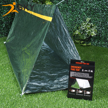 Color box installed aluminum foil earthquake outdoor emergency life emergency tent temporary shelter(China)