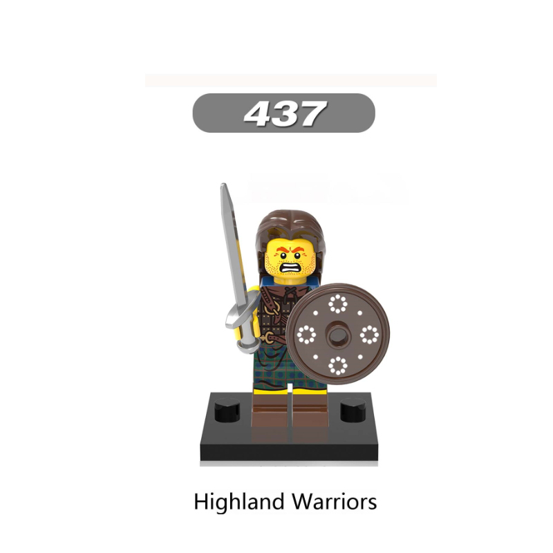 XH437-Highland  warriors