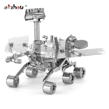 Freeshipping Mars Exploration Rover MER Metal Nano Puzzle DIY Model 3D Laser Cut Steel Jigsaw Toy For Audit(China)