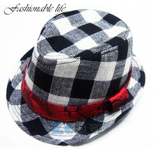 2016 Jazz Toddler Kids Baby Boy Girl Cap Cool Photography Fedora Hat Top For Hot Selling