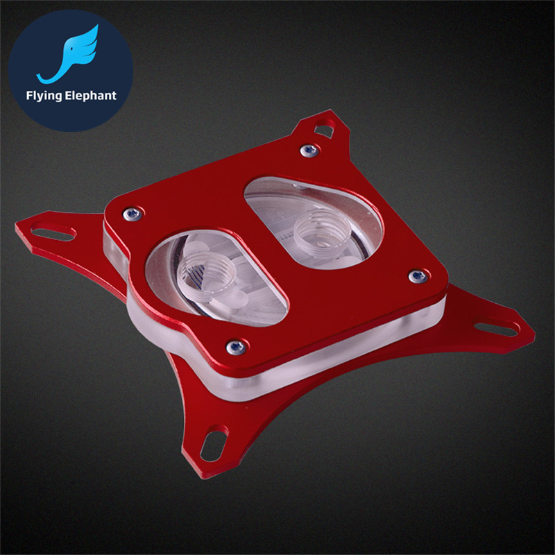CPU Radiator Water Block Water-cooled Head high-performance jet For INTEL Full Platform Universal 5 Colors Optional(China)