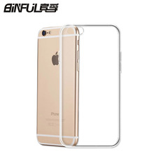 Buy two get one free Transparent Ultra-thin 0.3mm Back Case For iPhone 7 plus 4 4S 5 5S SE 6 6s 7 plus TPU protective shell