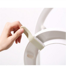 Hot sale Toilet Seat Cover sticking Lifter Handle Avoid Touching Hygienic Clean lifting sticker tool bathroom supply