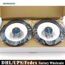 Free DHL Fedex 10PCS=5Pair LB-PS1652T 6.5 Inch Coaxial Car Audio Speakers Stereo Speaker(China)