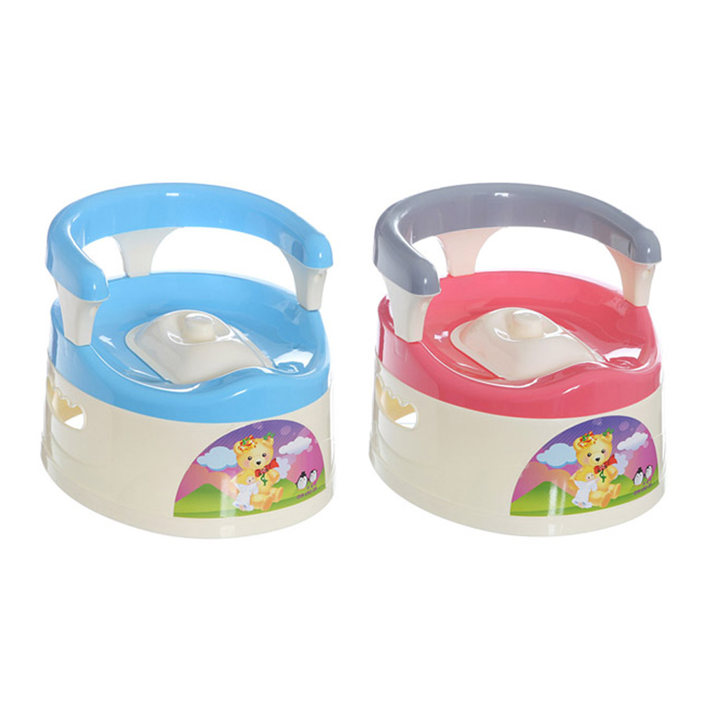 Baby Potty Toilet Car WC Seat Toilet Trainer Seat Chair Comfortable Portable Animal Stick Children Toilet for Baby Girl Boys<br>