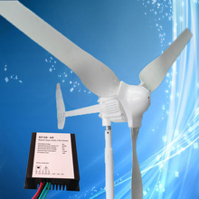 2017 Wind Turbine 1KW 48V 3Blades with Tail Turned Brake, Combine with 2000W 48V Wind Charge Controller,CE Certificate(China)