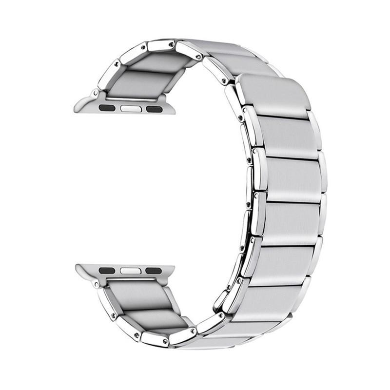 Luxury stainless steel watch band for apple series 1 2 3 watch strap 38-42 mm reloj hombre marca de lujo heren horlogewatcha bracelet (4)