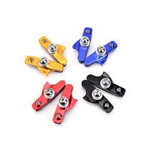 JETTING 1Pair MTB Mountain Road Bicycle Cycling Folding Bike V Brake Pads Holder Rubber Blocks C Clamp Durable Part