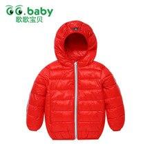Jacket Girls Winter Coat Hooded Baby Girl Kids Clothes Children Clothing Zipper Winter Jackets Boys Children Christmas