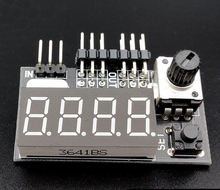 Multi-function Tester for Steering Gear Tester Motor ESC Tester Frequency Generator Accessaries(China)