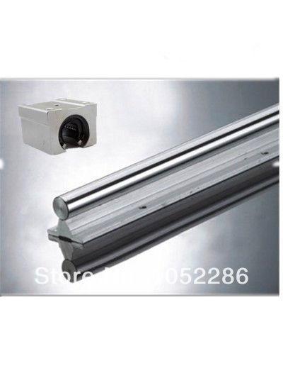 2pcs SBR10 -1200MM Linear rail + 4pcs SBR10UU Bearing Block<br>