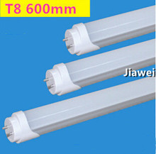 Discount  high qulity T8 LED tube light 9W 10W 600mm Dimmable and non Dimmable smd LED Fluorescent tubes light Bulbs led