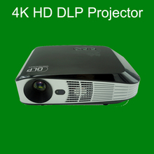 Bluetooth + 4.0 Android 4.4 + Wifi 6500Lumens HDMI VGA USB Blue Ray 3D Portable HD 1080P LCD Video LED Mini DLP 4K Projector