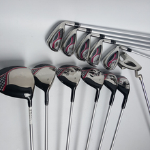 Hot New womens Golf Clubs 6PCS Woods +Golf Irons set 7 8 9 P S.(5pcs) + Putter with Graphite Golf shaft L flex Free shipping(China)
