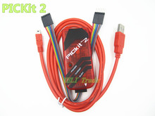 Free Shipping PICKIT2 PIC Kit2 Simulator PICKit 2 Programmer Emluator Red Color WUSB cable Dupond Wire We only have good quality