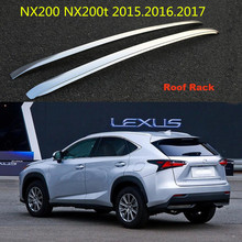 Auto Roof Rack Luggage Racks For LEXUS NX200 NX200t 2015.2016.2017 High Quality Brand New Aluminium Alloy Car Accessories
