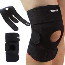 2017 New Adjustable Knee Patella Support Brace Sports Climbing Basketball Knee Protector Care Portable ZM14