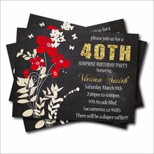 Convites De Aniversário Adulto Avaliações Online Shopping Convites