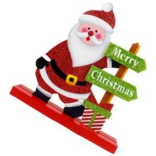 Best Christmas decorations Santa Claus living room Decoration 18 * 19cm(China)