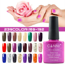 #30917 Hot Sale UV/LED Soak Off Gel Polish 7.3ml Gel Lacquer Nail Art Nail Polish(China)