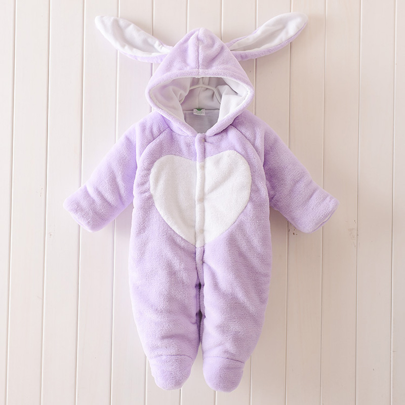 Warm Baby Rompers Winter Baby Clothing for Newborns Fleece Costume Baby Cotton-padded Overalls Jumpsuits Animal Boy Girl Clothes<br><br>Aliexpress
