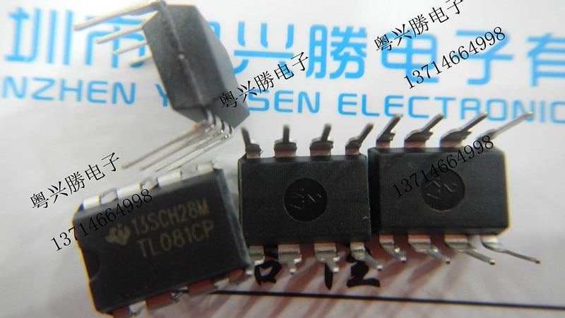 Free shipping 10pcs/lot Line TL081CP TL081 TL081C op amp DIP DIP-8 new original.