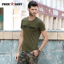 Fashion Tees Logo Printing Summer T Shirts For Men Simple Plain Tshirt Casual Army Green Tops Tees Brand Men's Clothing Ms-6292A
