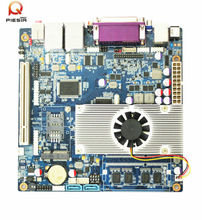 High Performance D2550 atom motherboard mini itx mother board with small fan