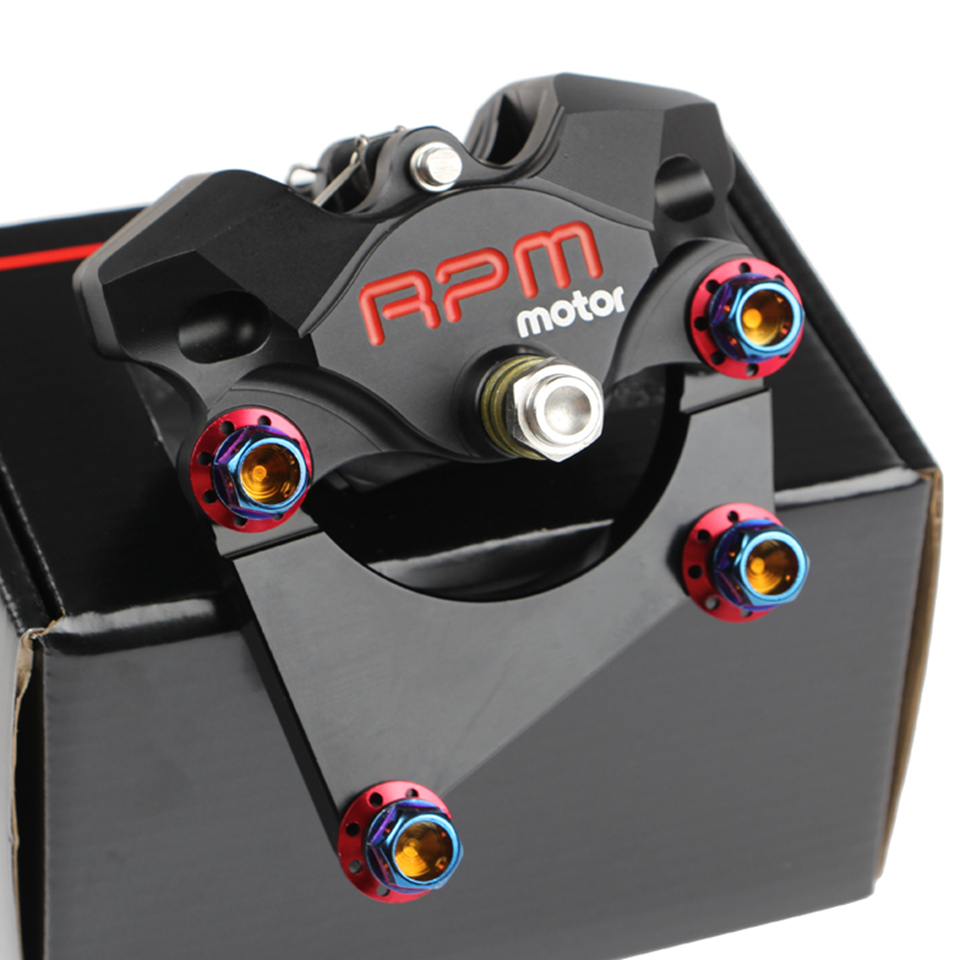 8.7 220mm Universal RPM Motorcycle Rear Brake Set CNC Scooter Brake Caliper+Disc Pump Adapter Bracket For Honda Yamaha Suzuki <br>