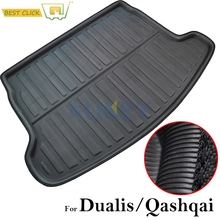 For Nissan Qashqai Dualis 2007-2017 Rear Trunk Boot Mat Liner Cargo Floor Tray Carpet 2008 2009 2010 2011 2012 2013 2014 2015(China)