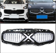 High quality ABS front grille mesh grill for KIA Sportage 2016 2017