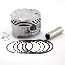 Motorcycle Engine Parts Cylinder Piston Kit with Pin Rings Set for Honda NX250 NX 250 AX-1 AX1 KW3 STD Standard Bore Size 70mm(China)