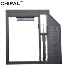 CHIPAL Plastic Universal SATA 3.0 2nd HDD Caddy 12.7mm for 2.5 Inch Hard Disk SSD Case Enclosure for Notebook CD-ROM DVD-ROM(China)