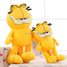 J.G Chen Hot Selling! 1pcs 12'' 30cm Plush Garfield Cat Plush Stuffed Toy High Quality Soft Plush Toys Doll Free Shipping(China)