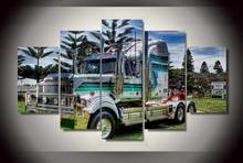 HD Printed truck Painting on canvas room decoration print poster picture canvas Free shipping/ny-2159
