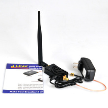 4W 4000mW 802.11b/g/n Wifi Wireless Amplifier Router 2.4Ghz WLAN ZigBee Bluetooth Signal Booster with Antenna TDD WiFi Booster