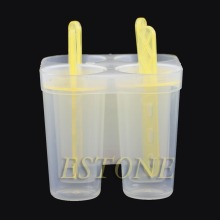 4/6 Frozen Freezer Lolly Yogurt GR Ice Cream Maker Juice Popsicle Mould Molds
