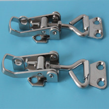 M Size Cabinet Boxes Lever Handle Toggle Catch Latch Lock Clamp Hasp 40mm*125 mm(China)