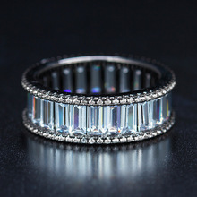2017 925 jewelry 3COLOR New Crystal from Austrian Angel Girl Simple Ring Round Fire Opal Rings for Women Trendy Engagement