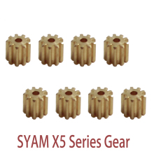 Syma Parts Motor Gear Metal Gear plastic gear Replacement Spare Parts Accessories For Syma X5 X5C X5SC X5SW