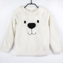 Winter Thick Sweater Coat Cartoon Bear Children Baby Sweaters Clothes Infant Warm Fleece Kid Pullover Blouse Long Sleeve T-shirt(China)