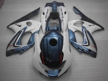 Full Body Kits Thundercat 06 07 Body Kits YZF 600R 02 03 1997 - 2007 White Blue Fairings for YAMAHA YZF600R 98 99
