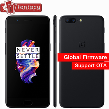 "Original Oneplus 5 6GB 64GB Smartphone Snapdragon 835 Octa Core LTE 4G 5.5"" 20.0MP 16.0MP Dual Camera Fingerprint Android 7.0 OS"