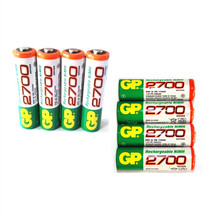 8 PCS/lot Wholesale For GP AA 1.2 V Ni-MH 2700mAh AA Rechargeable batteries' toys(China)