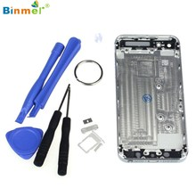 Binmer 2017 Best Price Superior Quality Metal Battery Door Housing Cover Replacement For iPhone 5 Tool J20